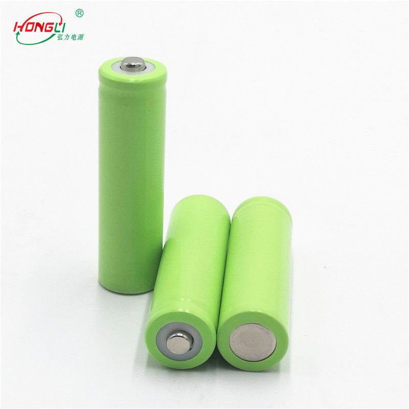 AA 500mAh 3.7V Lithium Ion Cell For Houehold Electronic Products / 14500 Lithium Ion Battery